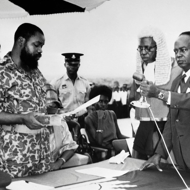 The Biafra Declaration By Ojukwu, And How The Civil War Ended