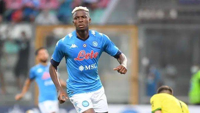 Nigerian striker Victor Osimhen