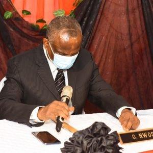 The Chairman, Cutix PLC AMB. Okwudili Odi Nwosu