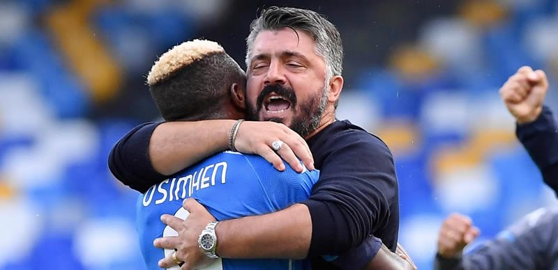 Napoli Manager, Gattuso Reveals When Osimhen Will Return From Injury