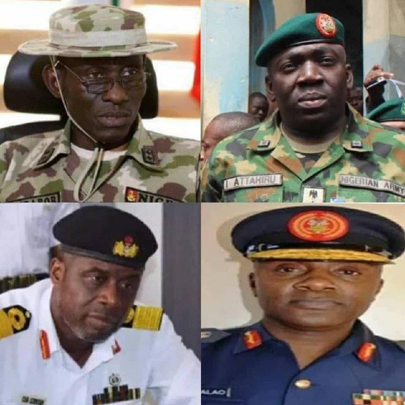 Buhari Asks Senate To Confirm Ex-Service Chiefs as Envoys