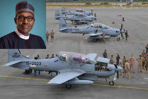 First Batch Of Super Tucano Fighter Jets Arrives Nigeria